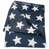 A.U Maison Picknickdecke Star Giant 170x140cm midnight blue